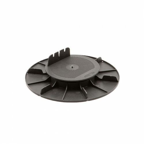 Stelzlager fur Holzterrassen 20 bis 30 mm 60 Stück (Kiste) - Schwarz - Jouplast