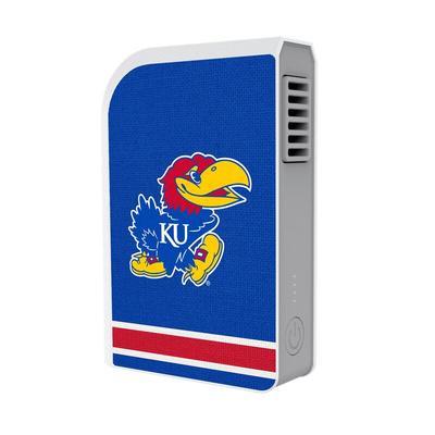 """""""Kansas Jayhawks 6000 mAh Phone Charging Powerbank & Personal Fan"""""""