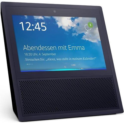 Amazon Echo Show (Amazon Alexa, IFTTT), Smart Speaker, Schwarz