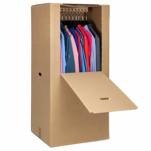 35 Kleiderbox Kleiderkarton Kleiderschachtel Box für Kleidung