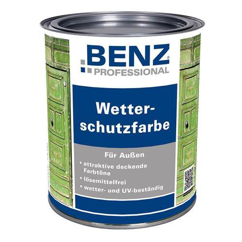 BENZ PROFESSIONAL Wetterschutzfarbe Holzschutzmittel , 2,5 L, Rot