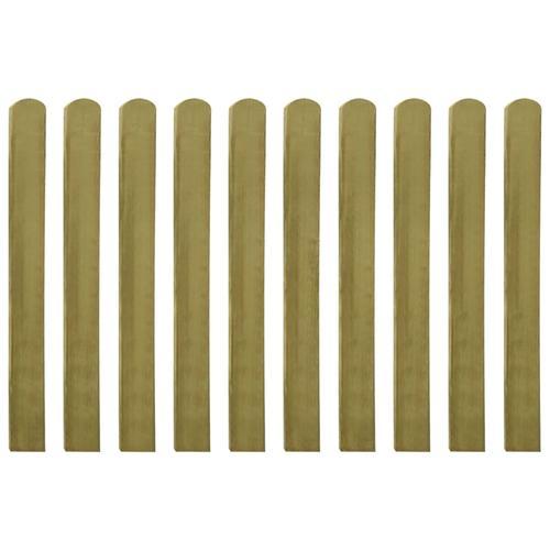 vidaXL Zaunlatten 20 Stk. Imprägniertes Holz 100 cm