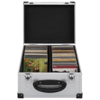 vidaXL Étui de CD pour 40 CD Alu...