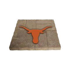Evergreen Stepping Stones - Texas Longhorns Garden Stone
