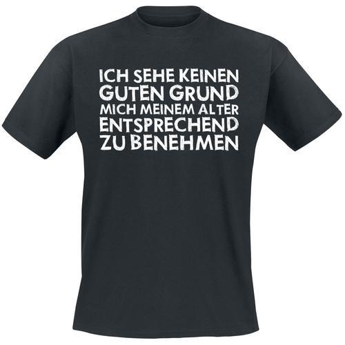 Keinen guten Grund Herren-T-Shirt - schwarz