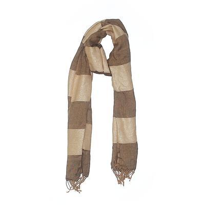 Scarf: Tan Stripes Accessories