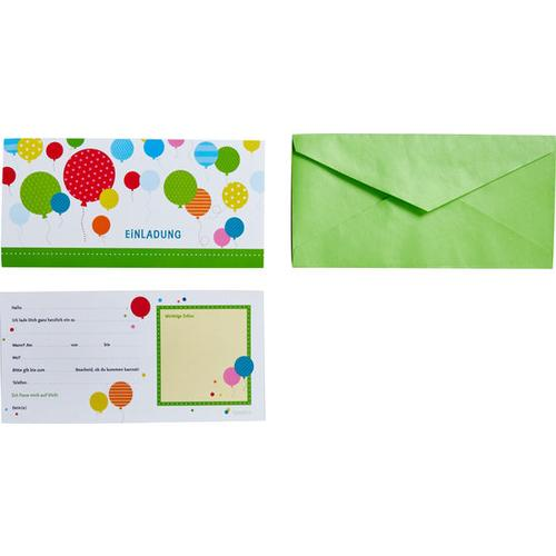 JAKO-O Einladungskarten, bunt