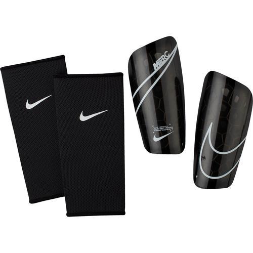 Nike Mercurial Lite Schienbeinschoner in black-black-wht, Größe L