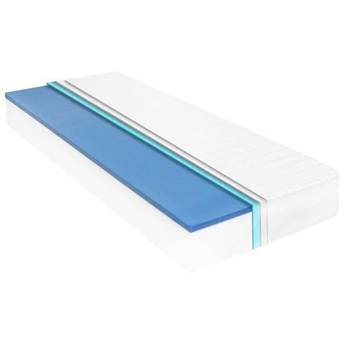 vidaXL Matratze 120 x 200 cm Viskoelastischer Memory-Schaum 18 cm
