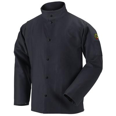 Revco Black Stallion 9oz Black FR Cotton Welding Jacket