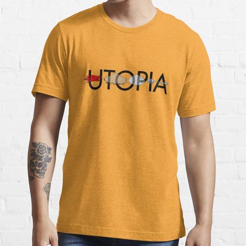 Utopia - Utopia title Essential T-Shirt