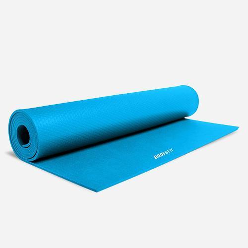 Body & Fit Fitness- & Yogamatte - Blau