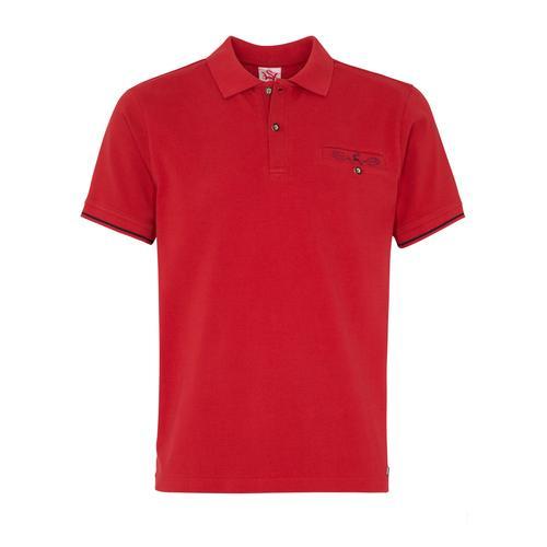 Spieth & Wensky T-Shirt Kapstadt rot Herren Shirts T-Shirts (kurzarm)