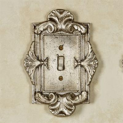 Florentine Single Switch Silver Shimmer , Silver Shimmer