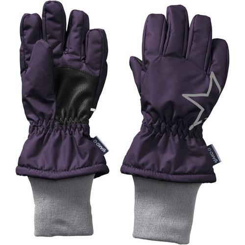 Fingerhandschuh Stern, lila, Gr. 4,5