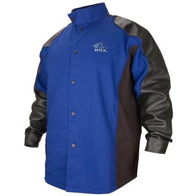 Revco Black Stallion BSX Royal Blue 9oz FR Hybrid Welding Jacket