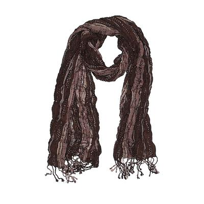 Scarf: Brown Accessories