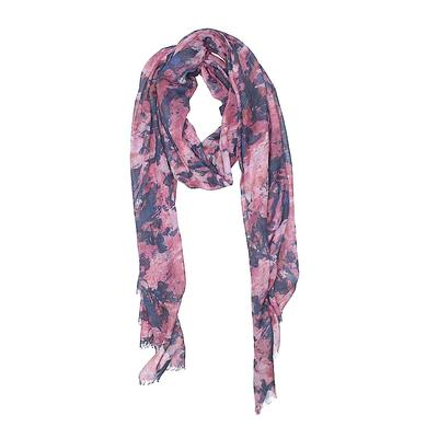 Scarf: Purple Floral Accessories