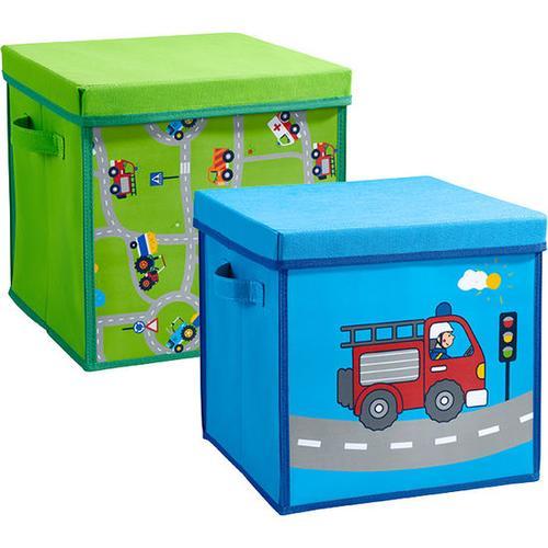 JAKO-O Aufbewahrungsboxen, grün