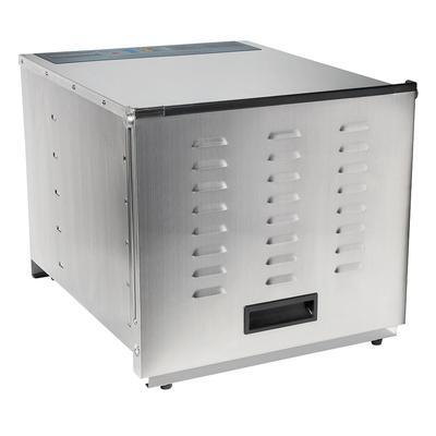 Hamilton Beach 78450 10 Tray Food Dehydrator w/ Digital Controls - Stainless Steel, 120v
