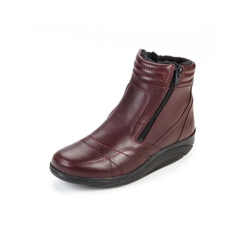 Avena Damen Rollsohlen-Stiefel Rot