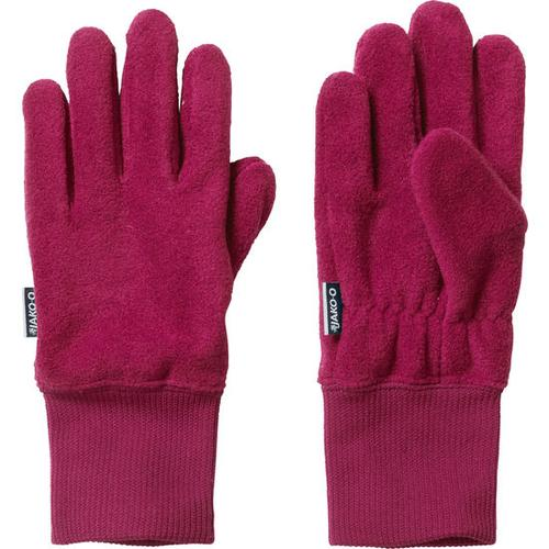 Fleece-Fingerhandschuh, rot, Gr. 5,5