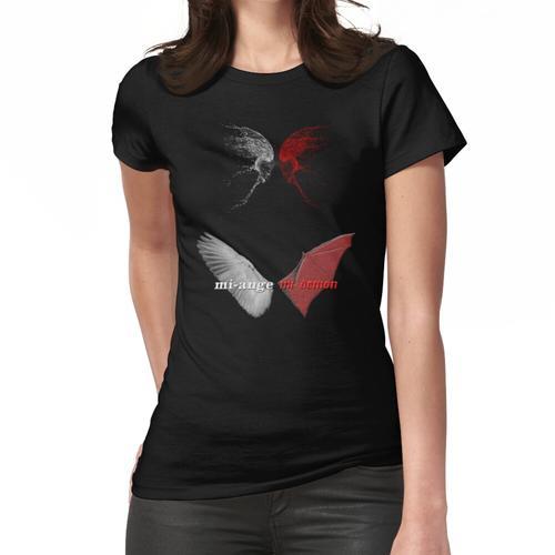 halber Engel halber Dämon Frauen T-Shirt