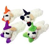 Multipet Halloween Lamb Chop Witch Plush Dog Toy, Color Varies, Regular