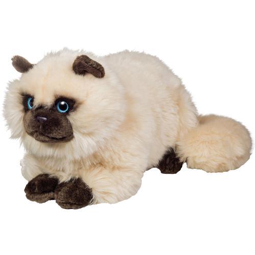 Teddy Hermann Kuscheltier Siamkatze sitzend, 36 cm weiß Kinder Ab 3-5 Jahren Altersempfehlung