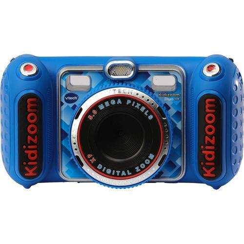 Vtech Kinderkamera Kidizoom Duo DX, blau, inklusive Kopfhörer blau Kinder Elektronikspielzeug