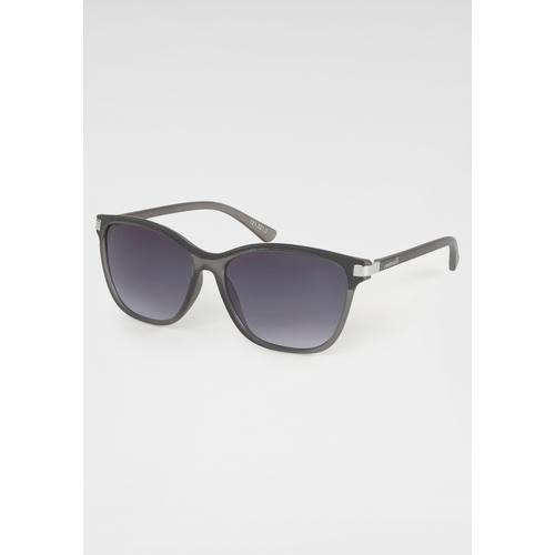 catwalk Eyewear Sonnenbrille, Gläser mit leichtem Verlauf grau Damen Eckige Sonnenbrille Sonnenbrillen Accessoires