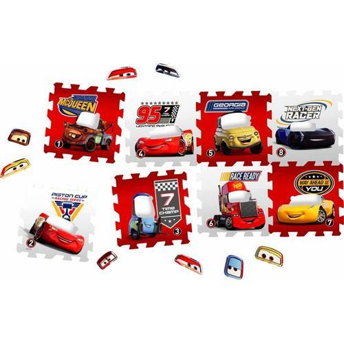 Knorrtoys Puzzle Disney/Pixar Cars, Puzzlematte, Bodenpuzzle bunt Kinder Ab Geburt Altersempfehlung