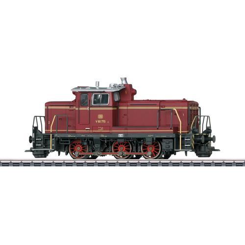 Märklin Diesellokomotive Rangierlokomotive BR V 60 770 DB - 37861 braun Kinder Ab 12-15 Jahren Altersempfehlung