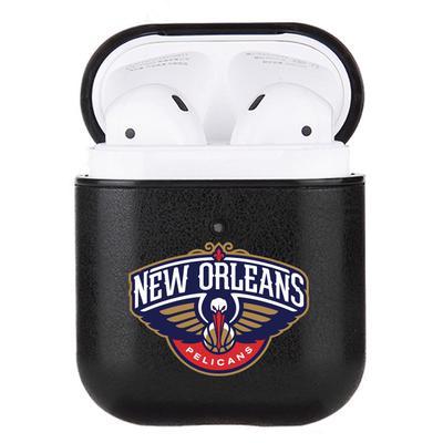 """""""New Orleans Pelicans Air Pods Black Leatherette Case"""""""