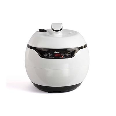 Multicuiseur blanc 950 W DOC203 Livoo