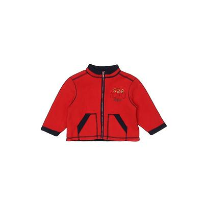 Vitamins Fleece Jacket: Red Jackets & Outerwear - Size 24 Month