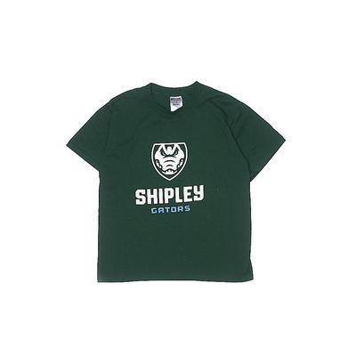 Jerzees Short Sleeve T-Shirt: Green Tops - Size Medium