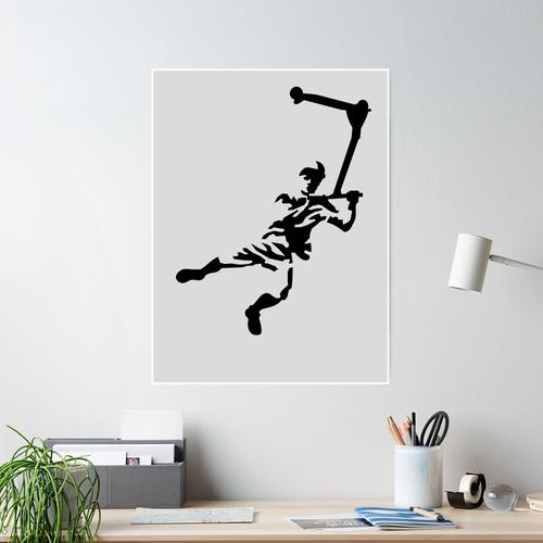 Kick scooter Poster