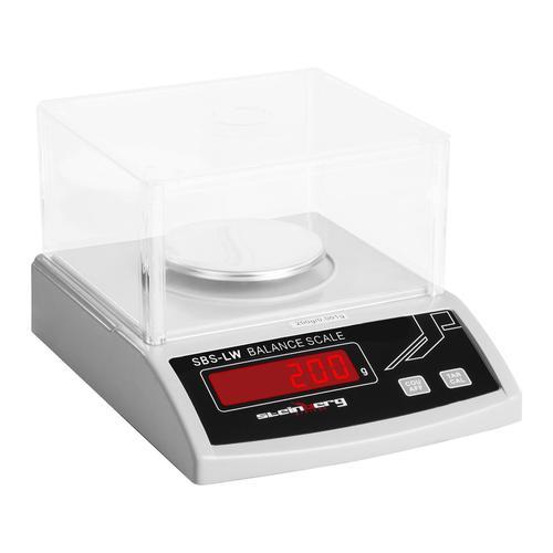 Steinberg Systems Präzisionswaage - 200 g / 1 mg - weiß SBS-LW-200N