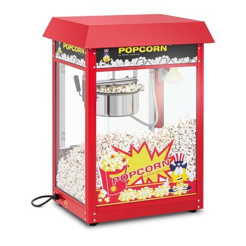 Royal Catering Popcornmaschine - rot RCPR-16E I MASZYNA DO POPCORNU