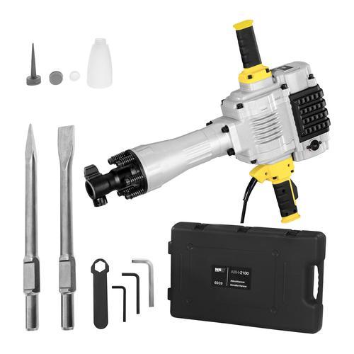 MSW Abbruchhammer ABH-2100 - 2.100 W - 85 J -1.600 Schläge/min - SDS-HEX