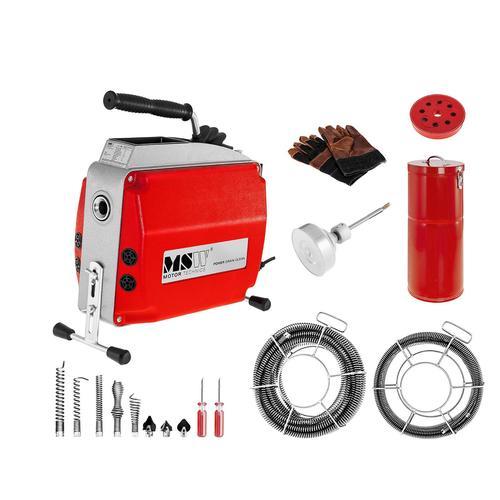 MSW Rohrreinigungsmaschine - 570 W - 400 U/min - Ø 20 - 150 mm MSW-POWER DRAIN CLEAN 2.3E