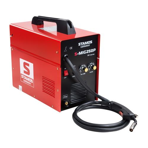 Stamos Basic MIG/MAG Schweißgerät - 250 A - 230 V - ED 60 % S-MIG 250P / MIGOMAT 250P/ SPAWARKA