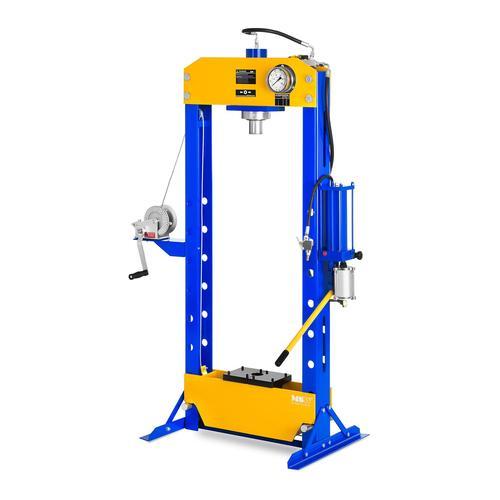 MSW Werkstattpresse hydropneumatisch - 30 t Pressdruck MSW-WP-30T-P