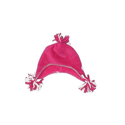 Baby Gap Winter Hat: Pink Solid Accessories - Size Small