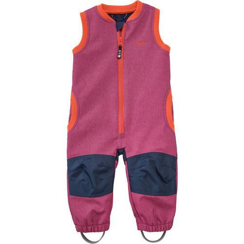 Softshell-Latzhose, pink, Gr. 80/86