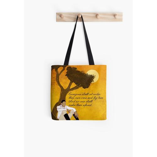 Rebe und Feigenbaum Artwork Tasche