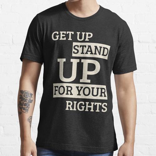 Aufstehen aufstehen Essential T-Shirt