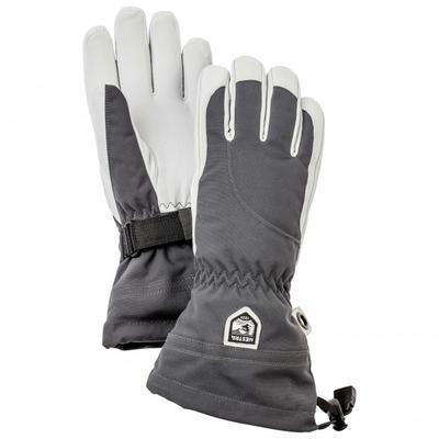Hestra - Women's Heli Ski 5 Finger - Handschuhe Gr 5 grau/schwarz