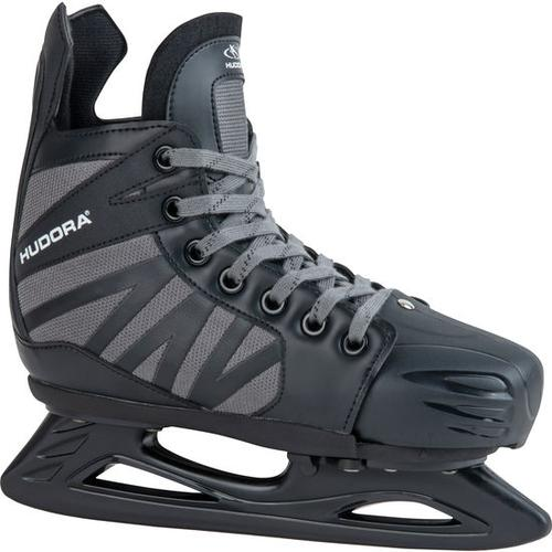 HUDORA® Hockey-Schlittschuh Power Play, schwarz, Gr. 36/39